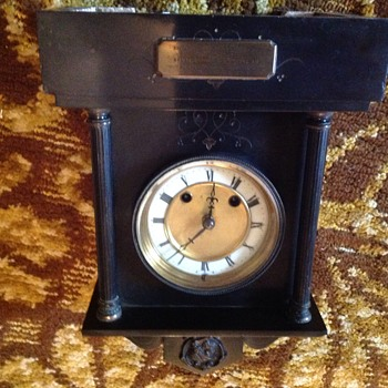 My late dads fathers clock dad passed at 93 - Clocks