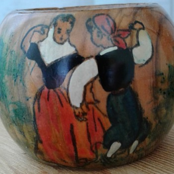Napkin Ring with Dancers - Kitchen