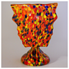 "Kralik""Knuckle"" Pedestal Dish Vase, Circa 1930"