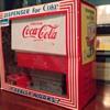 1960s coca cola dispenser toy in box