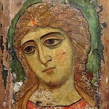 Russian Icon Archangel Print