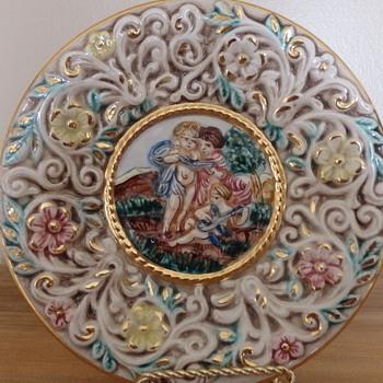 Capodimonte Plate  - China and Dinnerware