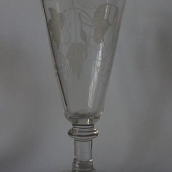Early Ale Glass - Art Glass