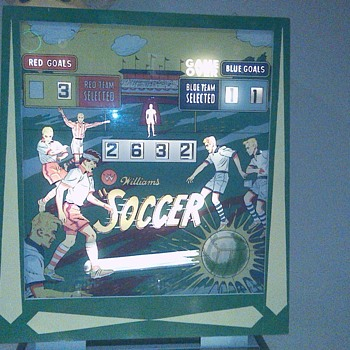 Williams Soccer Pinball, Production 1964-1972 - Games
