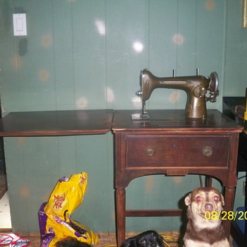 My westing house sewing machine
