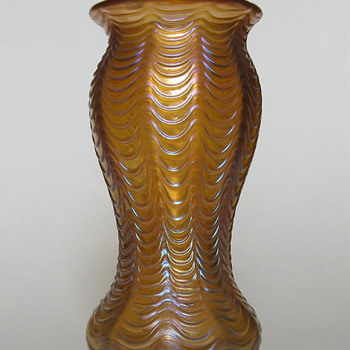 Loetz Aeolus vase - Art Nouveau