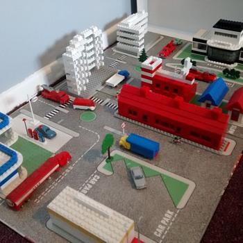 Lego Townplan set circa 1959 - Toys