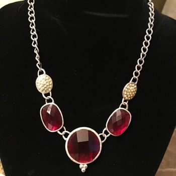Old Necklace? - Costume Jewelry
