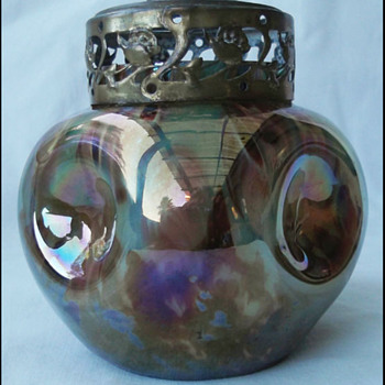 Kralik Millefiori Rosebowl  - Art Glass