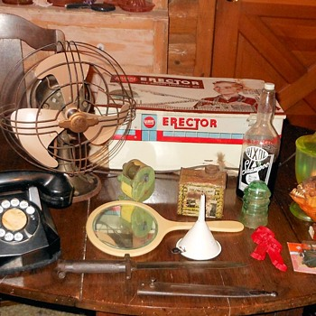 Rose Bowl Flea Market Haul from 7/10/16 - Advertising
