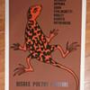 Poetry Festival Poster, 1979:  Ferlinghetti, Rothenberg