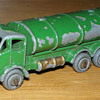 Matchbox Lesney 11a Road Tanker Green with Gold Trim but Unboxed