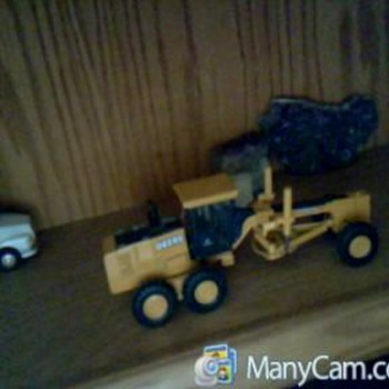 toy semi truck/toy bank car/toy tractor/toy woodie