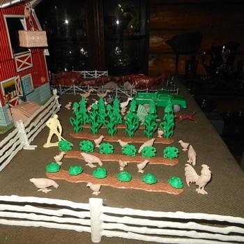 Marx Farm Fantastic Finale For Now - Toys
