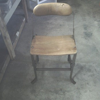 Mysterious wooden chair - Furniture