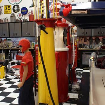 Wayne Visible Gas Pump - Petroliana