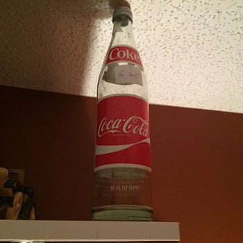 Coca Cola Publix 50 years bottle 1930-1980. - Coca-Cola