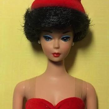 Silken Flame Brunette Reproduction Barbie Doll - Dolls