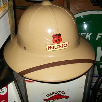 Phillips 66 Pith helmet - Petroliana