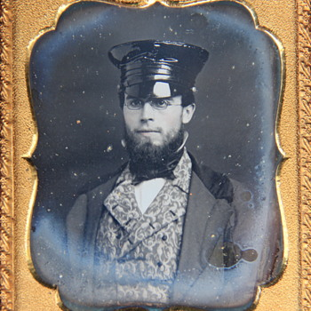 Sixth-Plate Daguerreotype Portrait of a Fashionable Young Man - Photographs