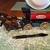 Plastic and Metal ERTL True Value Horse Carriage Bank