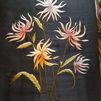Possibly Japanese silk embroidery - Sewing