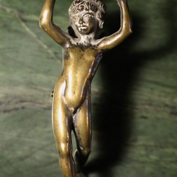 Bronze Angel - Fragment from something... - Fine Art