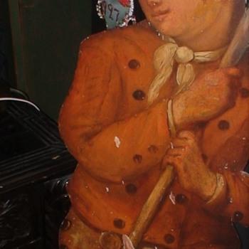 "18th Century Dummy Board ""Silent Companion"" - Fine Art"