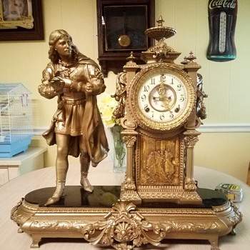 Ansonia Mantel Clock - Clocks