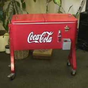 Old Coca Cola Cooler