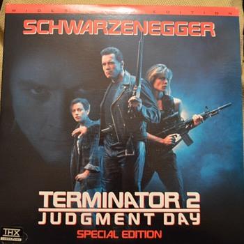 Terminator T2 laserdisc - Movies