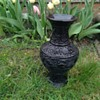 Age of Thailand Cinnabar Vase?