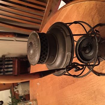 My railroad lamp