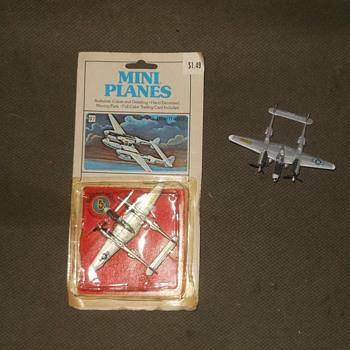 Bachmann Mini-Planes P-38 Lightning  Circa 1980 - Toys