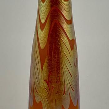 Loetz Phänomen Genre Vase, PN I-7987, ca. 1900 - Art Glass