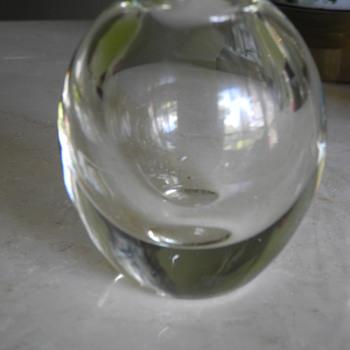 Dirk Andries Copier vase. Leerdam c.1936 - Art Glass