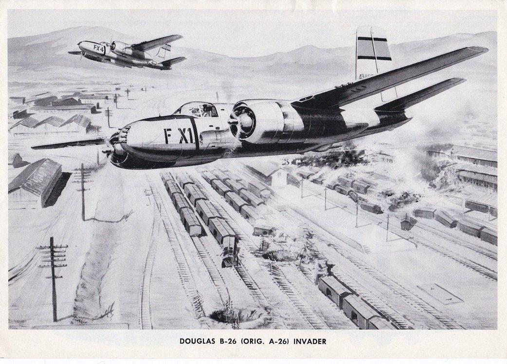 douglas a 26 b 26 bomber collectors weekly B. 26 Marauder WWII