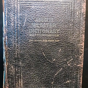 Book, Dictionary (1934) - Books
