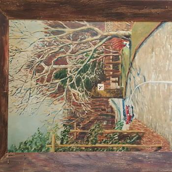Impressionist Oil on Canvas Signed TJM - Fine Art
