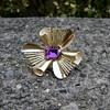 Crown Trifari Abstract Flower