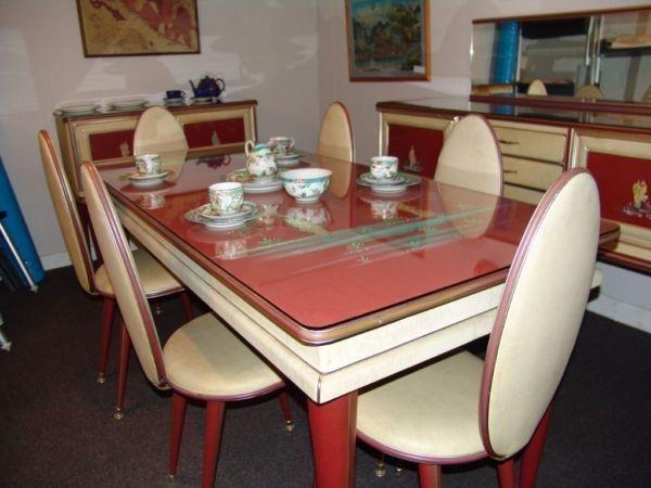 1950s Umberto Mascagni Rare Italian Dining Suite Sold In Harrods