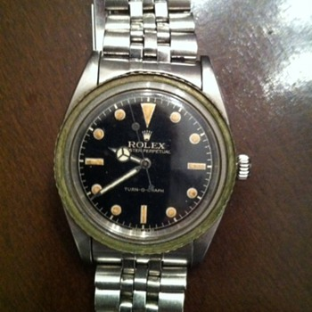 Dad's Rolex Turn-O-Graph A 260 - Wristwatches