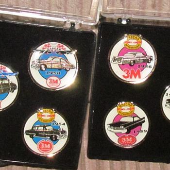 NASCAR PINS  1949-1960 3M BRAND. - Model Cars