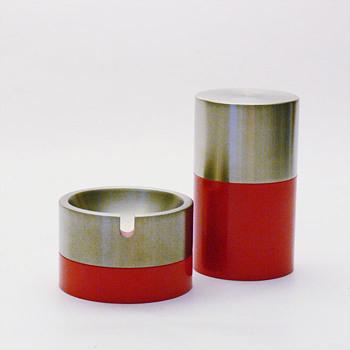 OSLO ashtrays and cigarette-box, André Ricard (1968) - Tobacciana