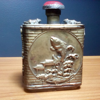 Copper Snuff Bottle - Bottles