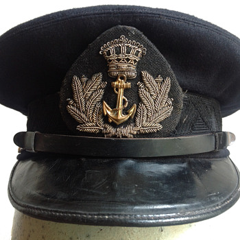 Dutch Navy Officer's Hat - Military and Wartime