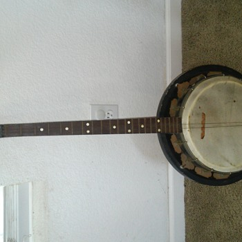antique. banjo tune master