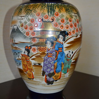 Japanese Satsuma Vase - Early 20th Century ? - Asian