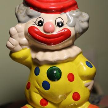 Cute Little Clown Bank - Toys