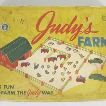 Judy's Farm Set - Toys